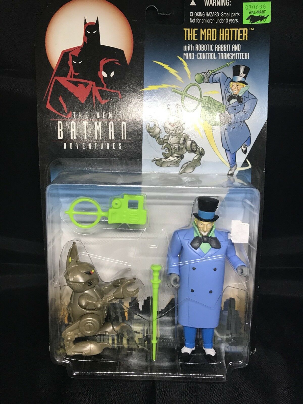 The New Batman Adventures Mad Hatter Kenner NIP 4+ 1980-2001 S136-12