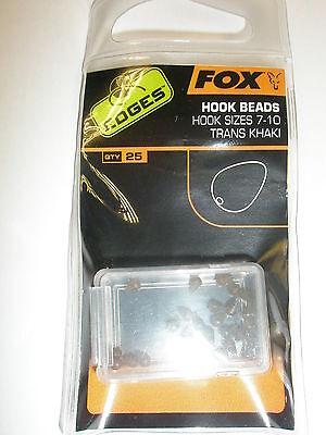 Fox Edges Size 7 Lead Clip  Plus Pegs trans khaki Transparent Savety