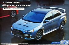 Aoshima 05164 1/24 Scale Model Car Kit Mitsubishi Lancer Evolution X Evo 10 CZ4A
