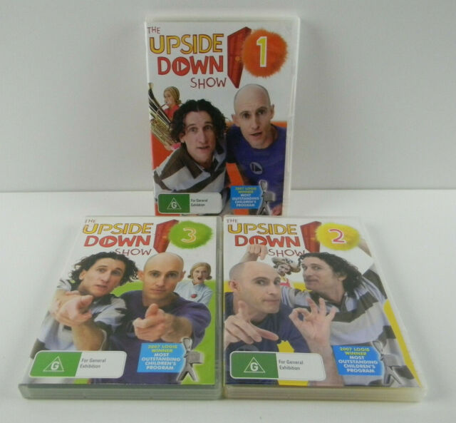 The Upside Down Show : Vol 1 + 2 + 3