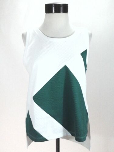 1971a905e1ba4 Active Green Top Tank White Equipment Women s New M Eqt Adidas Originals  Bp9250 wX4qF84fx