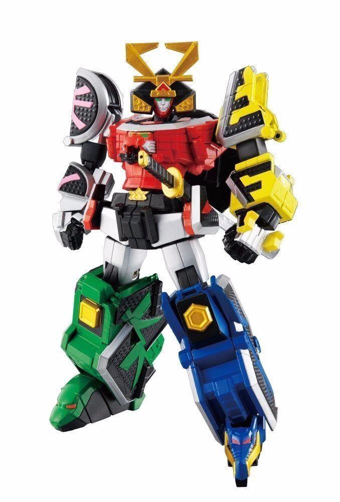 Super Robot Chogokin Samurai Sentai Shinkenger SHINKENOH Action Figure BANDAI
