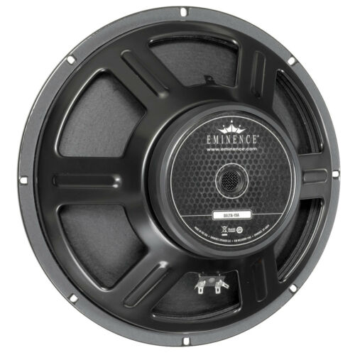 """Pair Eminence Delta-15A 15/"""" Driver 8 ohm 100dB 2.5/"""" Coil Replacement Speaker"""