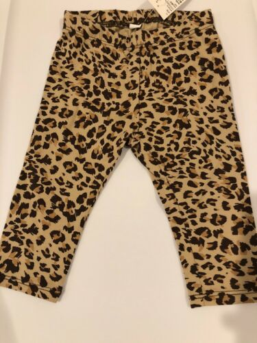 The Childrens Place Tddler Girls Size 6-9m Leopard Print  Leggings