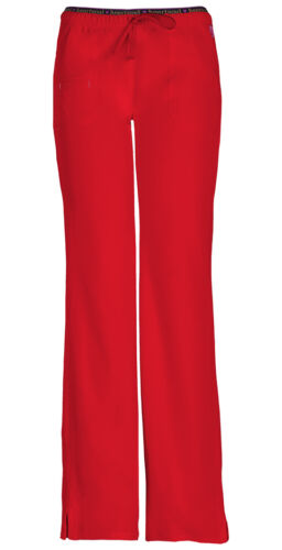 Scrubs HeartSoul Petite Low Rise Drawstring Pant 20110P RDHH Red Free Shipping