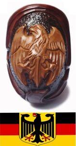 * AQUILA tedesca * in legno intagliati a mano handmade FUMARE Pipe tubi per Filtro da 9 mm