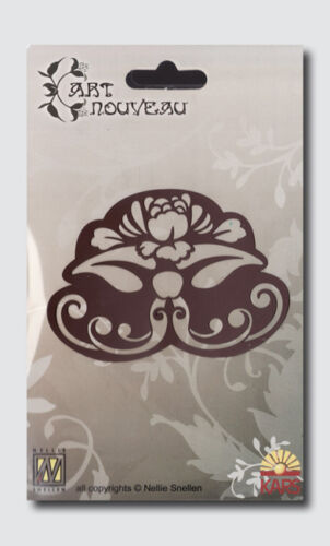 2153 Embossingschablone Prägeschablone Schneideschablone Art Nouveau Blume