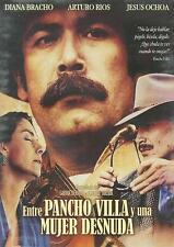 Entre Pancho Villa Y Una Mujer Desnuda DVD NEW Diana Bracho Jesus Ochoa SEALED