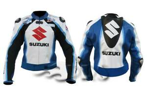 Suzuki Motorbike Leather Jacket