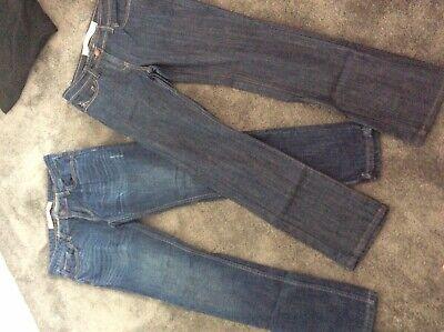 2 Paia-next-slim-jeans - Taglia 10- Facile Da Lubrificare