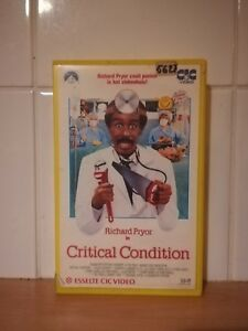 CRITICAL-CONDITION-VHS-BIG-BOX-EX-RENTAL-ENGLISH-WITH-DUTCH-SUBTITLES