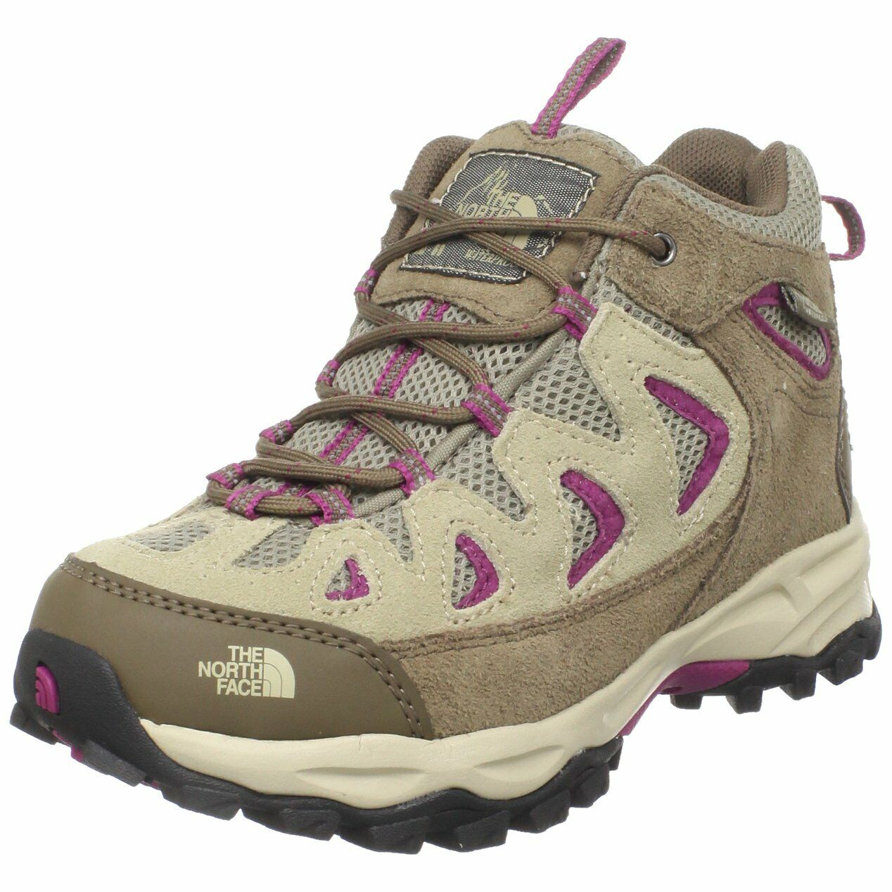 The North Face Girls Dune Beige  Or d Vindicator WP Hiking shoes  75 NEW  choices with low price