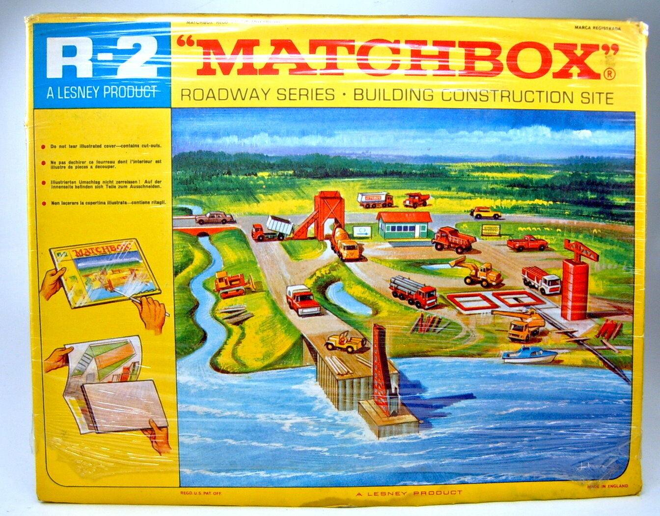 Matchbox Roadway R-2C  Construction Site Construction Site  1968