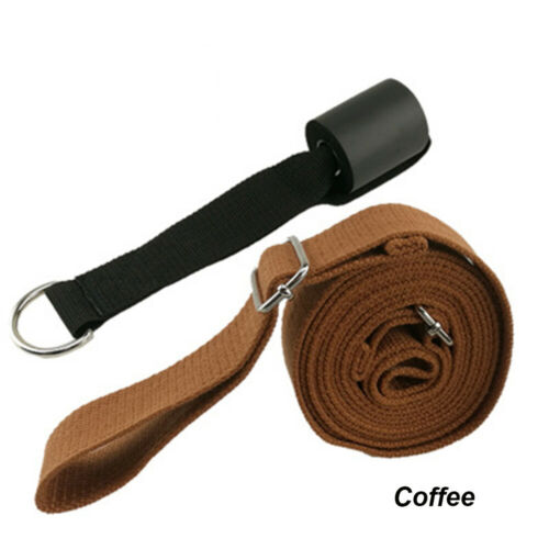 Door Flexibility Stretching Legs Stretcher Strap with Loops Split Training new