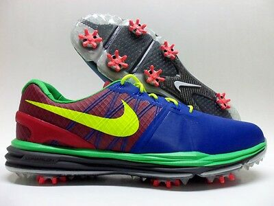 watch 0f787 5e290 NIKE LUNAR CONTROL 3 ID GOLF CLEAT ROYAL BLUE RED-VOLT SIZE MEN S 8