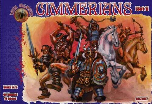 Dark Alliance 72027 Cimmerians set 1-1:72