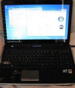 "HP Pavilion dv6 15.6"" Notebook AMD Turion 2.4GHz 100GB HDD 4GB Windows 7"