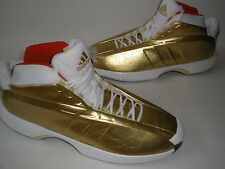 NEW ADIDAS SMU BASKETBALL CRAZY 1 GOLD RED WHITE size US 18 EUR 53 UK 17 UNIQUE