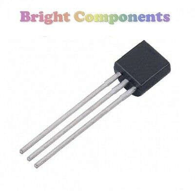 1st Class Post To-92 25 X 2n3906 Pnp Transistor