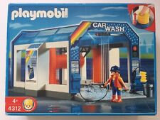NIB Playmobil 4312 CAR WASH 2006 Summer Fun! VERY RARE