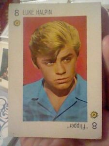 LUKE-HALPIN-FLIPPER-SPANISH-70-S-CARD-TELE-BANCO-CANCION-PINK-BACK
