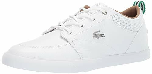 Lacoste Men's Bayliss Sneaker, White/White, Size 11.5 CRaN