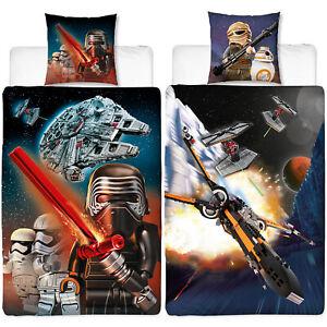 Details zu Biber Kinder-Bettwäsche Lego Star Wars Millennium 135 x 200  Bettzeug Bettbezug
