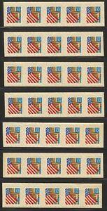 1996-Flag-Over-Porch-Sc-2915-MNH-Plate-No-V11111-4-amp-3-strips-of-5