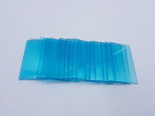 LEGO 20 X VITRE GLAS FOR FRAME 1X4X6 TR LIGHT BLUE REF 57895//35294 BIEN LIRE!