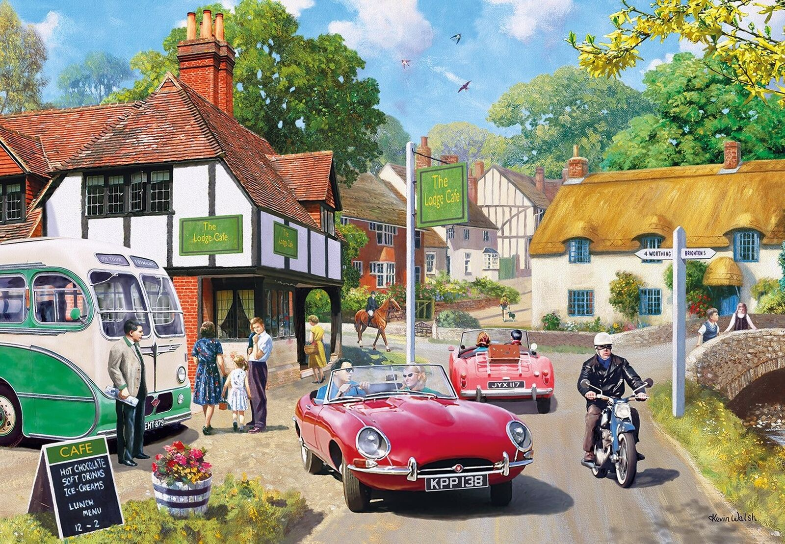 Gibsons Roadside Refreshments Jigsaw Puzzle  2000 2000 2000 piece 5a00d4