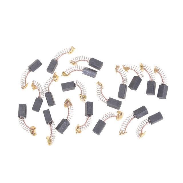 20pcs 6.5x7.5x13.5mm Carbon Brushes Repairing Part Generic Electric Motor SE