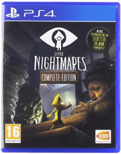 Little Nightmares - Complete Edition PS4 (Sony PlayStation 4, 2017) Brand New