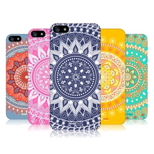 HEAD CASE DESIGNS MANDALA PROTECTIVE HARD BACK CASE COVER FOR APPLE iPHONE 5 5S