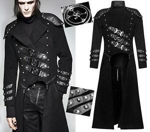 Manteau Transformable Punkrave Clous Punk Veste Gothique Crânes Steampunk Armure AArvwqx