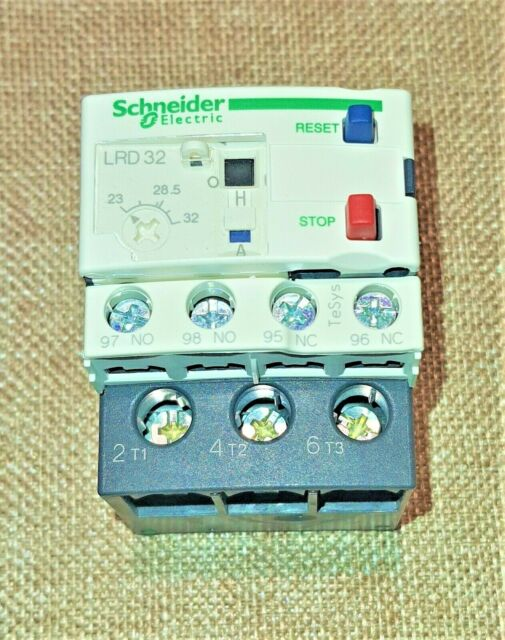 Schneider Electric TeSys LRD32 thermal overload relays 23-32A