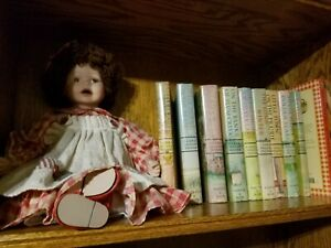 Laura-Ingalls-Wilder-HC-Little-House-Complete-Very-Good-Cond-Doll-amp-Cookbook