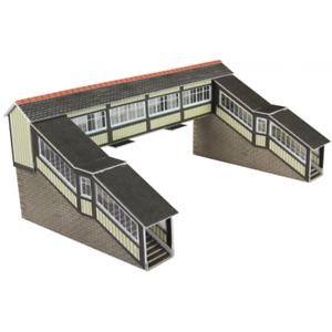 Metcalfe PN136 Footbridge Card Kit N Gauge