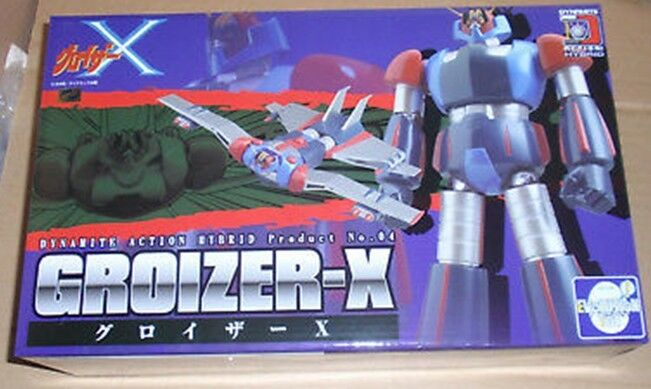 Dynamite Action  HYBRID No.4 Groyzer X Robot Evolution Toy Groizar RARE