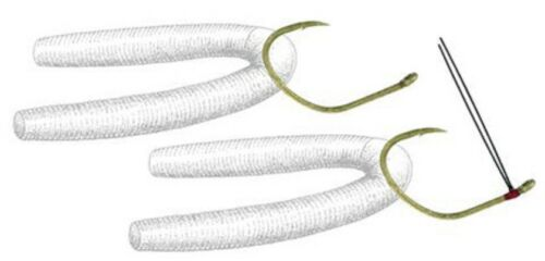 Size 1//0 5172-116 Drop Shot Hooks Owner 5172 Wacky Hooks Weedless