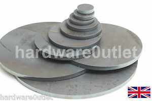 10 Mm 3 8 Quot Round Mild Steel Blank Disc Plate Sheet 10 0 Mm