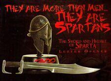300 Movie FRANK MILLER Greek Spartan King Leonidas HELMET SWORD LETTER OPENER