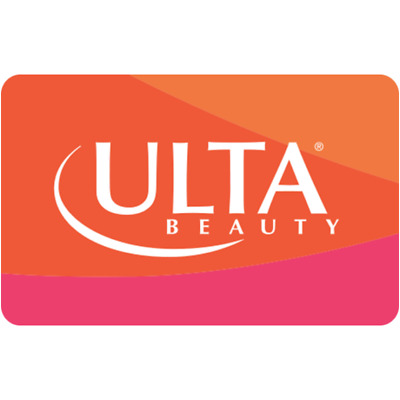 Ulta Beauty Gift Card - $25 $50 or $100 - Email delivery