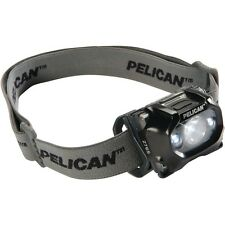 PELICAN 2765 HEAD LIGHT LED DIV 1 SAFETY APPROVED FLASHLIGHT BATTERIES INCL