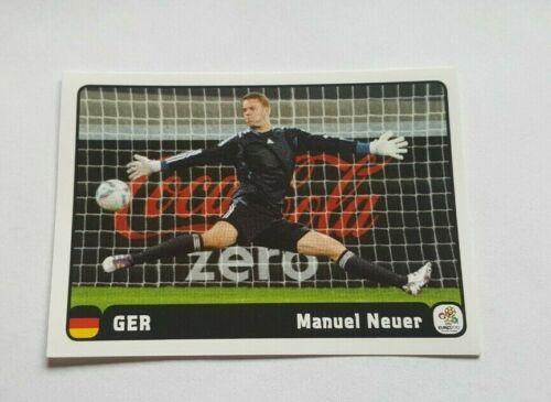Panini EM 2012 Coca Cola 1 6 Heldentat Manuel Neuer UEFA EURO 12