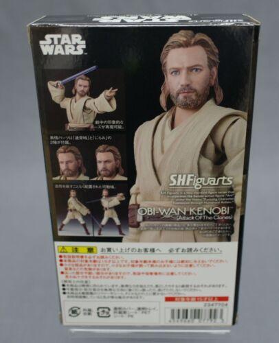 Figuarts Obi-Wan Kenobi ATTACK OF THE CLONES SH S.H Star Wars Bandai NEW