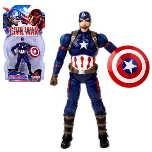 "Marvel Captain America Movie 3 Civil War 7"" Action Figure Toy"