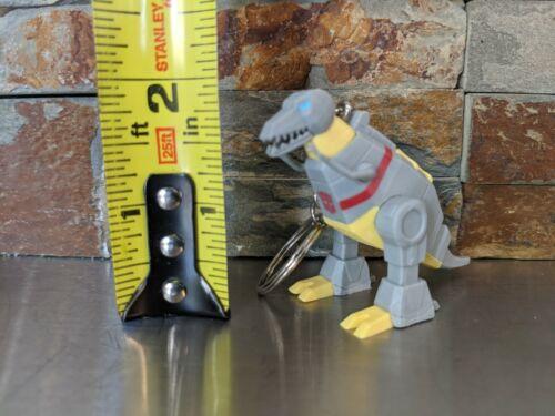 G1 Transformers Grimlock Vinyl Mini Figure Keychain Bag Clip Custom Made