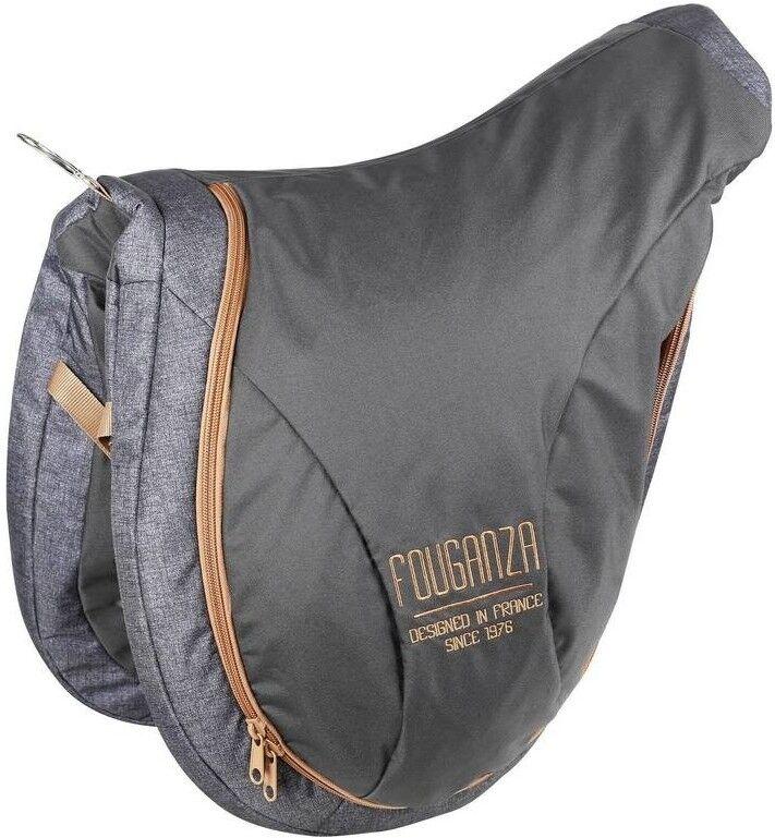 Horse Riding Saddle Bag- Easy transport - Very Comfortable - Mottled Grey Camel