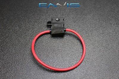 18 Gauge ATC Fuse Holders in-LINE AWG Wire Copper 12V Blade Waterproof EE 25
