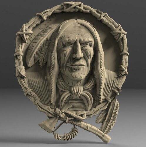 STL 3D Models # THE HUNTER # for CNC 3D Printer Engraver Carving Aspire Artcam